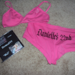 Birthday Girl Panties and Bra