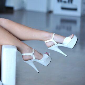 white-stripper-high-heels
