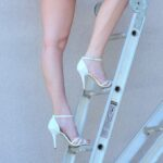 white-ankle-strap-high-heels