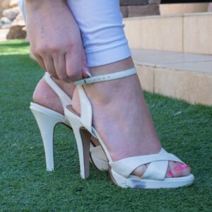 patent-white-high-heels