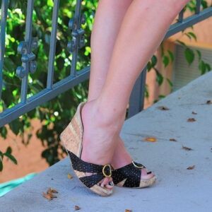 black-cork-wedges