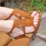 worn-tan-high-heels