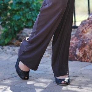 black-peep-toe-high-heels