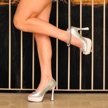 silver-glitter-pleaser-chunky-heels