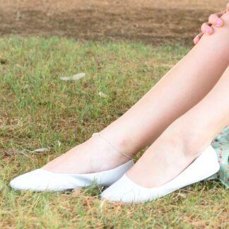 white-ballet-flats